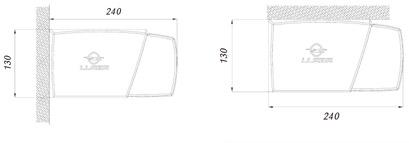 Dimensiones Toldo Cofre Maticbox 350