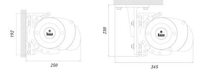 Dimensiones Toldo Cofre Maixbox 300