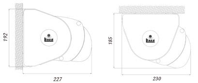 Dimensiones Toldo Cofre Storbox 300