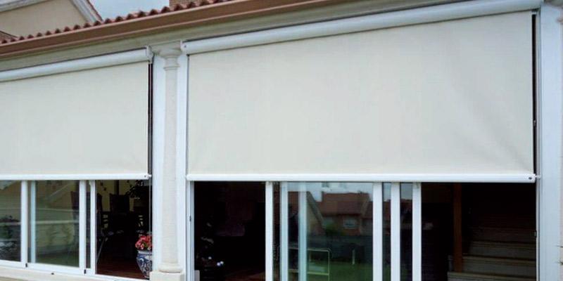 Toldos verticales capotas toldos planos solstore - Toldos verticales enrollables ...